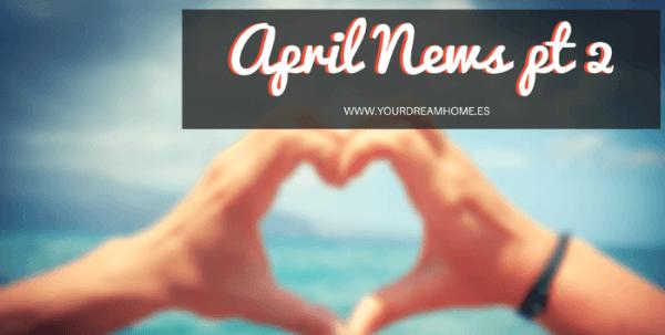 April news pt 2