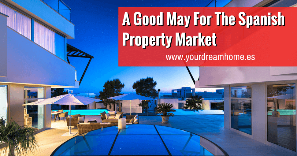 A good May for the Spanish property market